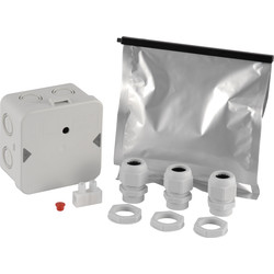 Junction Box With Pourable Resin 11 to 17mm