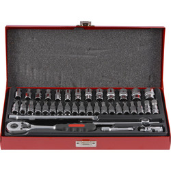 "Silverline Doppenset 1/4"" 38-delig - 86564 - van Toolstation"