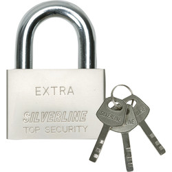 Padlock Steel 50mm Open bracket