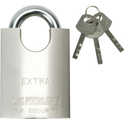 Padlock Steel 40mm Closed Shackle