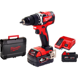 Milwaukee Milwaukee M18 CBLDD-402C accu schroefboormachine 18V  Li-ion - 88506 - van Toolstation