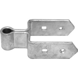 Double onderheng for outside gates 9 cm
