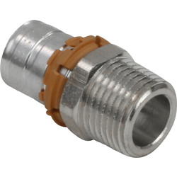 "Uponor MLC Press Coupler Male ½""x16mm"