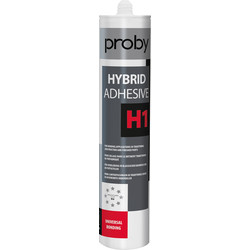 Proby Hybridekit H1 lijmkit wit 290ml - 91331 - van Toolstation