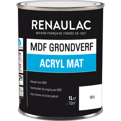 Renaulac MDF grondverf acryl mat
