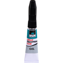 Bison Super Glue Gel 3g
