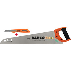 Bahco PrizeCut  Handsaw with FREE Snap Off Blade Knife worth 5.35 euros 550mm