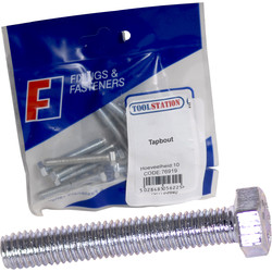 Forgefast High Tensile Set Screw M6x50 - 97432 - from Toolstation