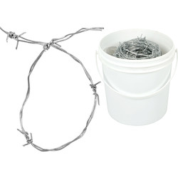 Galvanized Barbed Wire 50 m