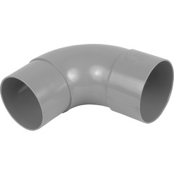 Wavin PVC HWA bocht 90º 70mm - 99952 - van Toolstation