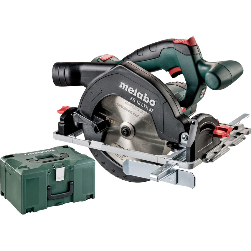 Metabo KS 18 LTX 57 accu cirkelzaagmachine (body)