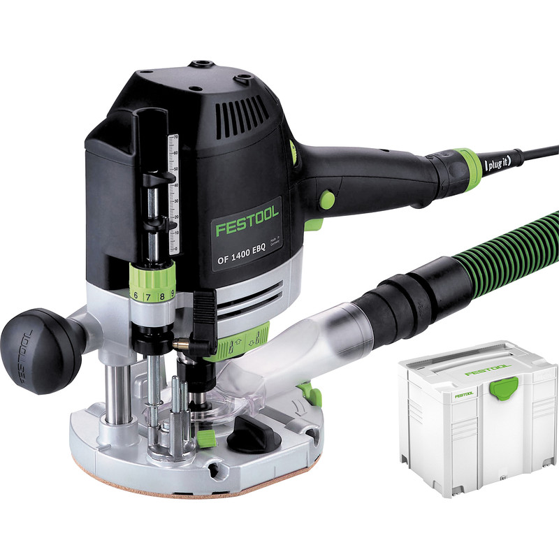 Festool OF 1400 EBQ Plus freesmachine