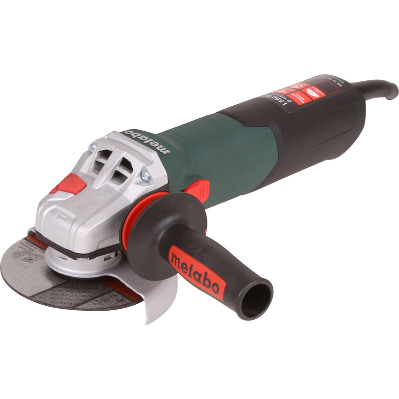 Metabo WE 15-125 Quick haakse slijpmachine