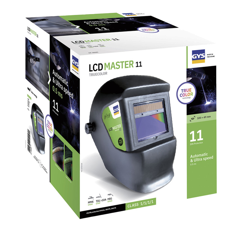 GYS lashelm LCD Master 11 True Color