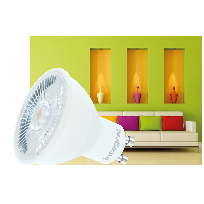 "Integral LED spot GU10 ""Real Colour CRI 95"""