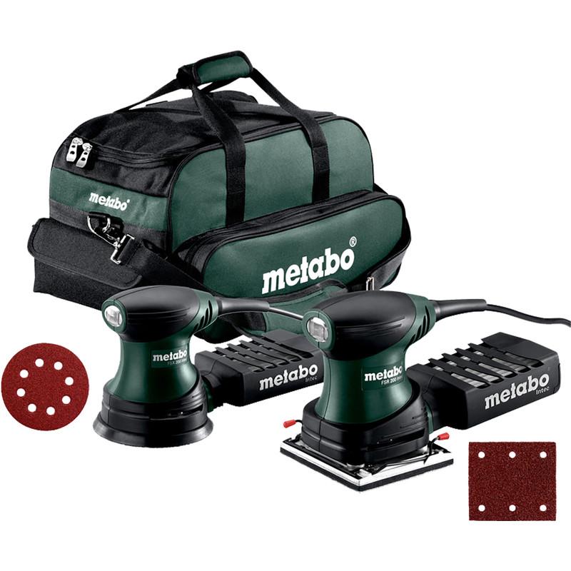 Metabo FSR200 + FSX200 Combopack