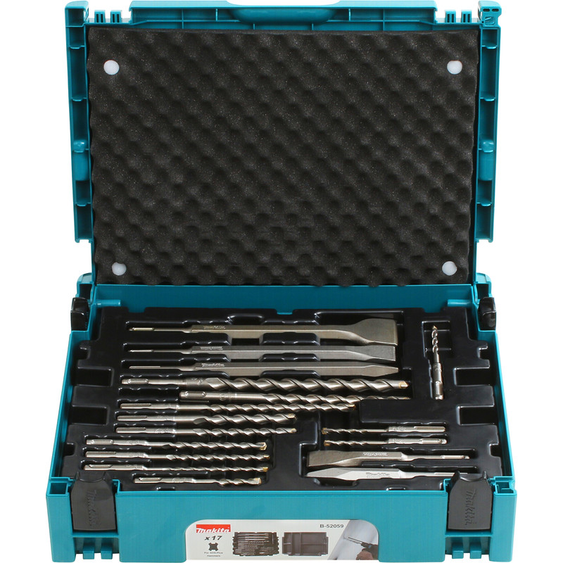 Makita SDS-plus boren- & beitelset