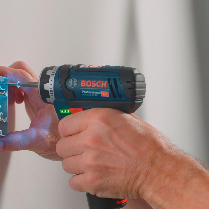 Bosch GSR 12V-15 FC accu schroefboormachine