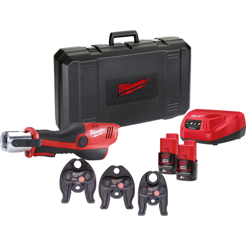Milwaukee M12 HPT-202C U-KIT Uponor accu perstang