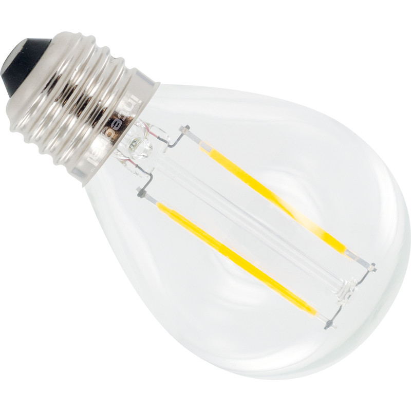 Integral LED lamp Filament kogel E27
