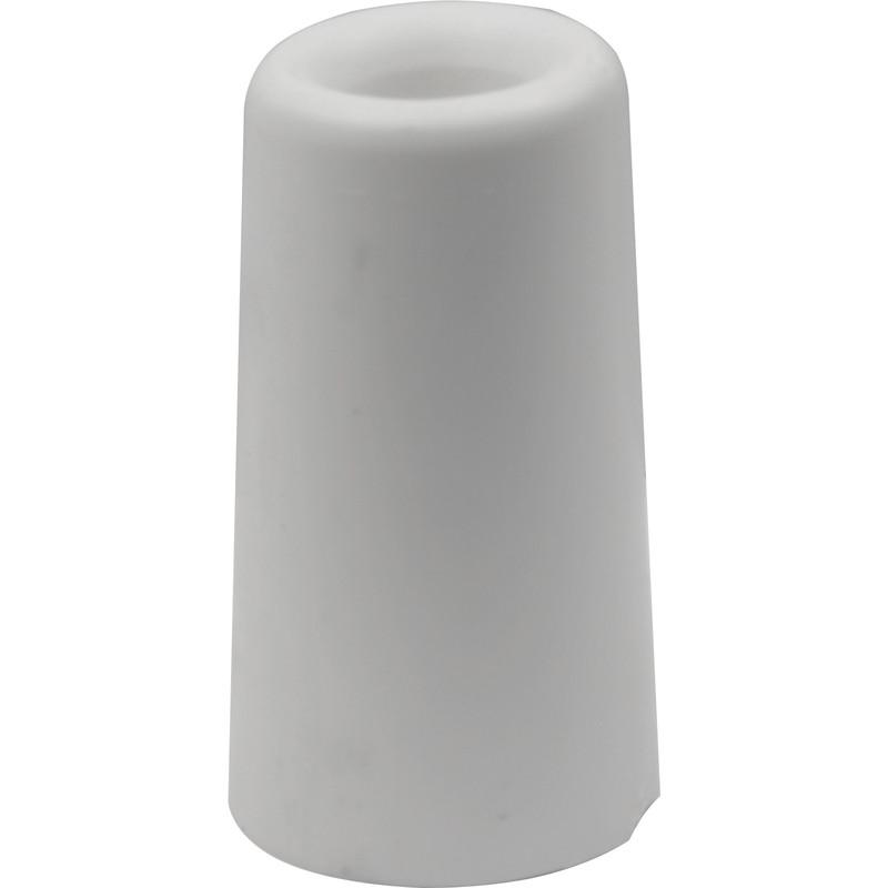 DX rubber deurbuffer wit