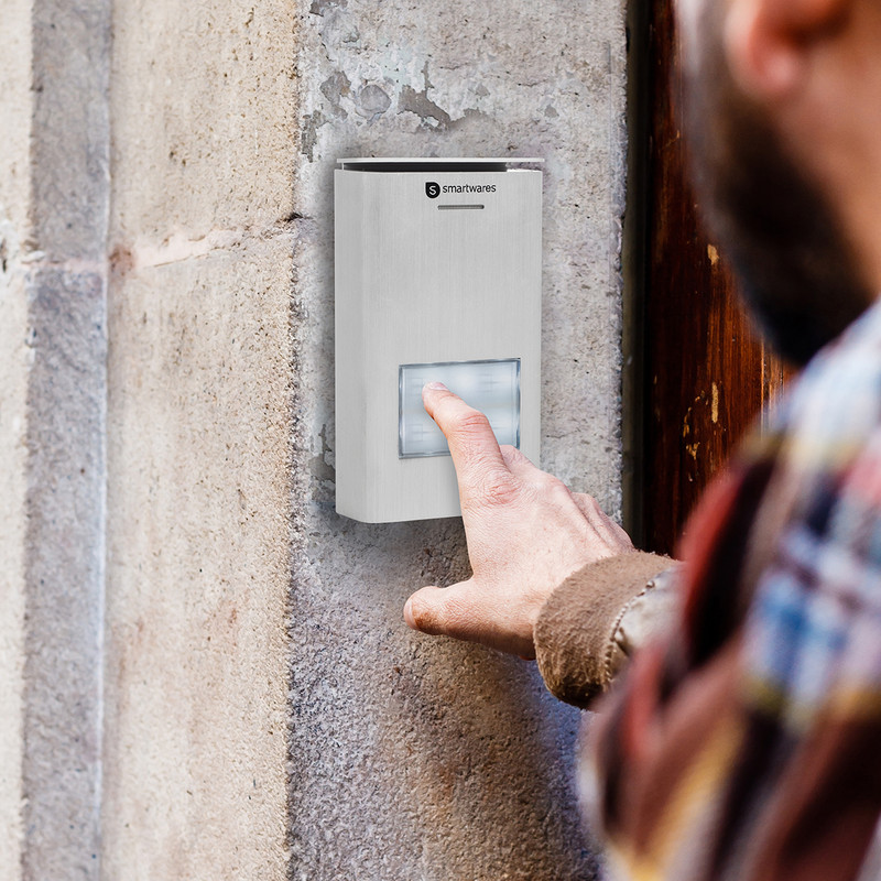 Smartwares audio intercom systeem appartement