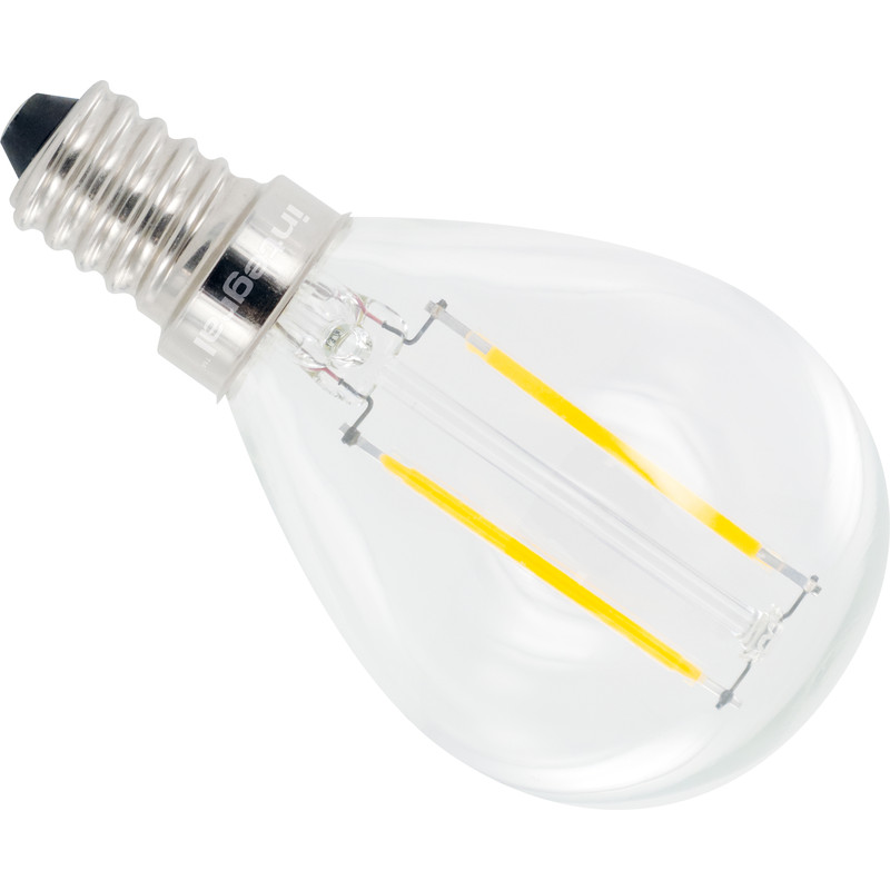 Integral LED lamp filament kogel E14