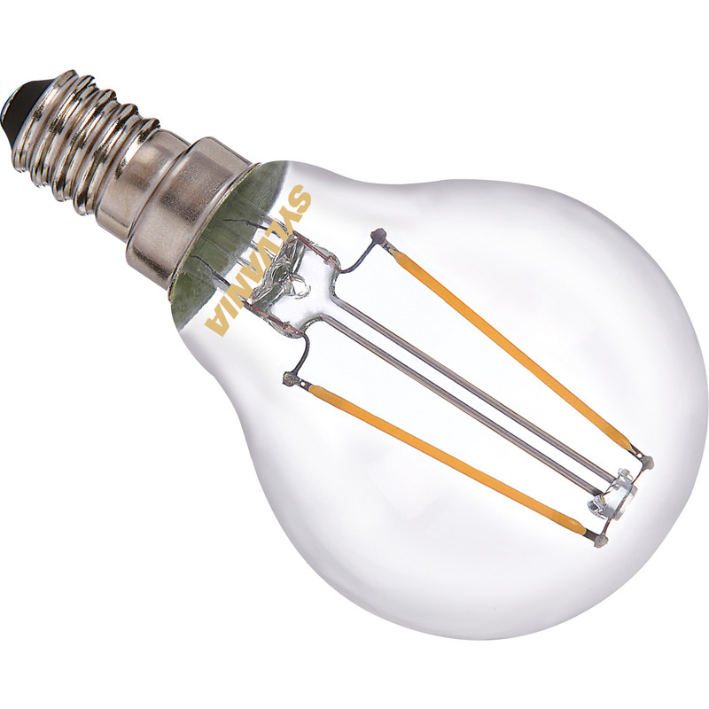 Sylvania ToLEDo LED lamp filament kogel helder E14
