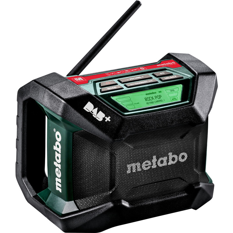 Metabo R 12-18 DAB+ BT bouwradio