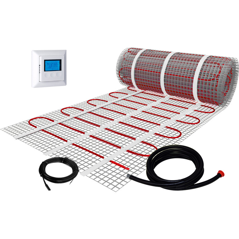 Plieger Den Bosch.Plieger Electric Floor Heating Mat 50 X 800cm 4m 600w