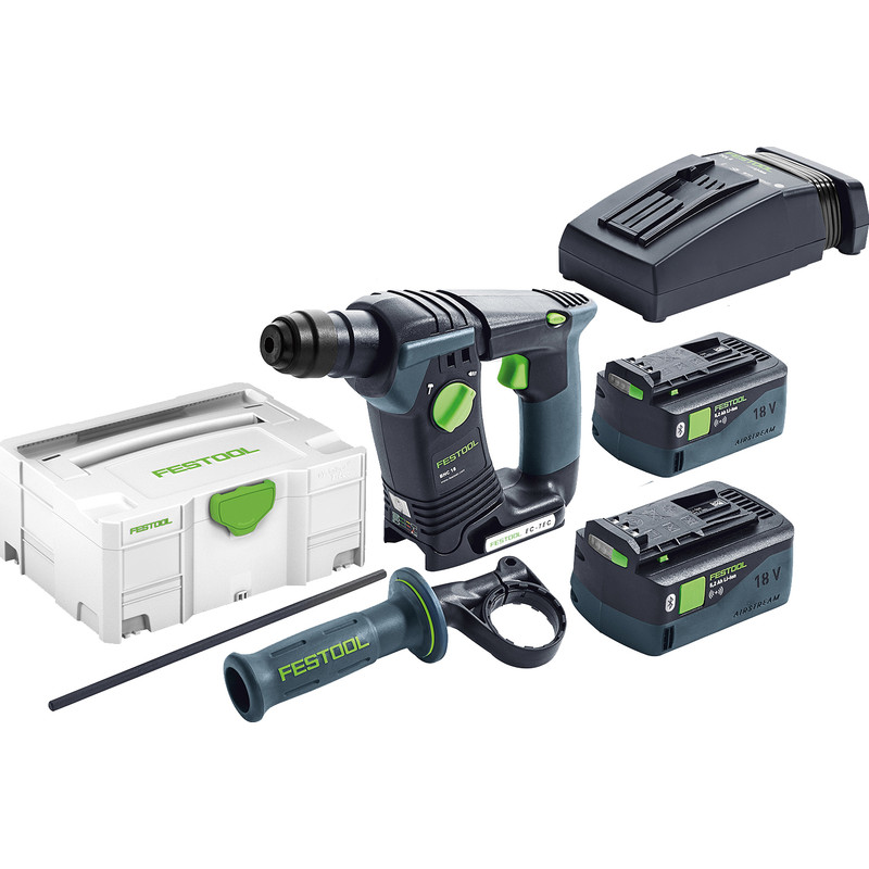 Festool BHC 18 Li 5,2 I -Plus accu boorhamer machine