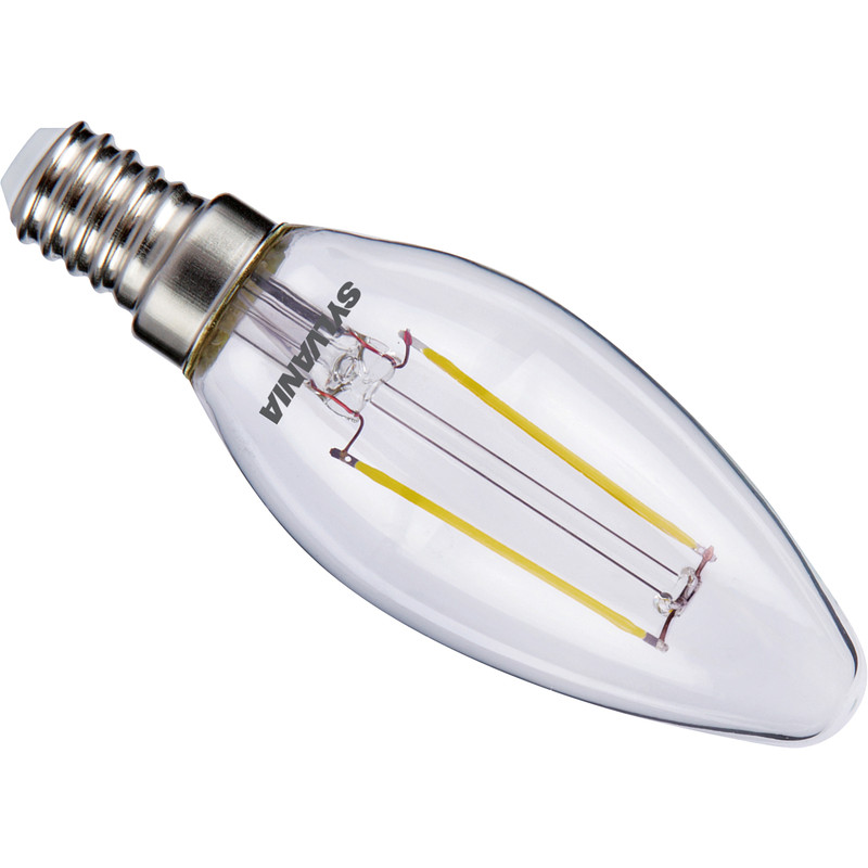 Sylvania ToLEDo LED lamp filament kaars helder E14